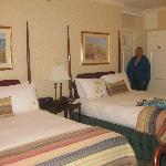 Our room, Hawthorne Hotel, Salem, MA