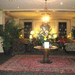 Lovely lobby, Hawthorne Hotel, Salem, MA