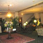 Nice lobby, Hawthorne Hotel, Salem, MA