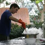 making ice cream