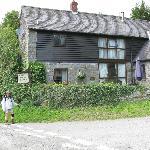 Quarry House near Offa's Dyke walking path