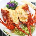 Australian Lobster Backed With Cheese