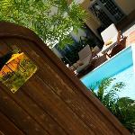 Entrance to your villa