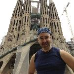 Not only did Robin show me sites (like Sagrada Família), but he even took photos when we got the