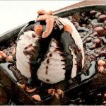 The Hot and Cold - Sizzling Brownie with Nuts