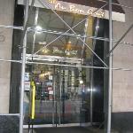 Exterior - Front, December 2012, scaffolding