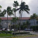 entree principale de l'hotel