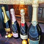 A good selection of Champagne