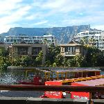 Table Mountain from breakfast room