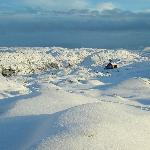 Vidden near Mt. Ulriken at winter time - tunliweb.no