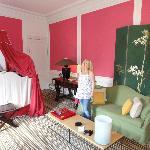 Beautiful romantic room