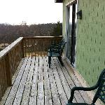 Cottage #80 deck