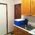 Cottage #80 kitchenette