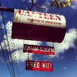 Canteen signpost