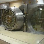 Original vault from Alamo National Bank, now the hotel