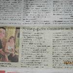 Article de Midi Libre paru en août 2012