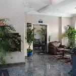 Hotel Lobby with business center