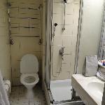 salle de bain d'un grand hotel
