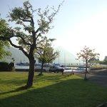 sunny day - resort campus