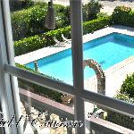 La piscine vue de haut