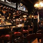 The bar at Jarvey's Restraditional Irish Pub