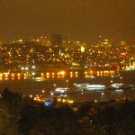 The Golden horn from the roof terrace