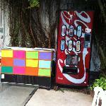 Soda/water vending machine and beer cooler