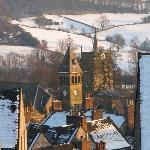 A snowy Wirksworth
