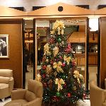 Xmas tree in reception