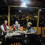 cusco view from dinning room