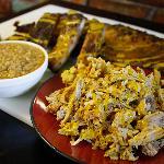 BBQ Pork, Ribs, and Carolina Hash