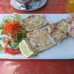 Delicious local fish!
