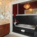 Large Jacuzzi In Master bathroom