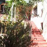 Patio de la Posada y escaleras