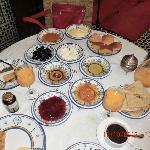 uno de los desayunos que nos preparaba Mohamed