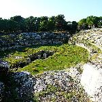 The Roman Amphitheatre, Syracuse