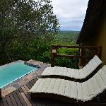 Rock Lodge room plunge pool