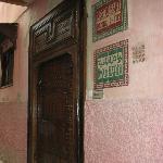 Front door of Riad Bahia