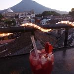 Sangria in Cafe Sky