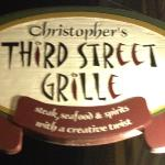 ‪Christopher's Third Street Grille‬