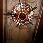 Agatha Christi ceiling detail