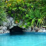 One of the jacuzzi caves