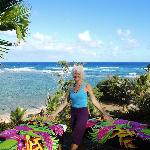 Blissful oceanside sessions! Private property, Kapa`a area