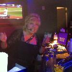 Blanche Morro; the very talented Singing Bartender at Resorts!