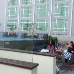 Swimming pool at 12th floor