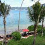 View from room looking towards Patong