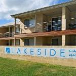 Lakeside Holiday Apartment steetscape