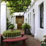 22 Van Wijk Street Stoep - access to rooms