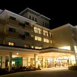 facade of the hotel, pretty nice ei?