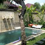 Pool area Villa 2A